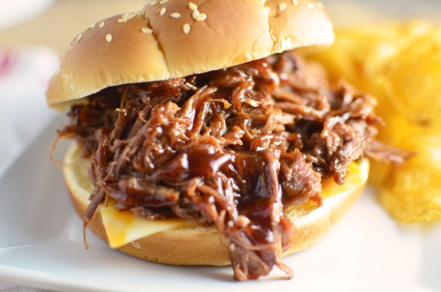 3-Ingredient-BBQ-Beef-Sandwiches-close